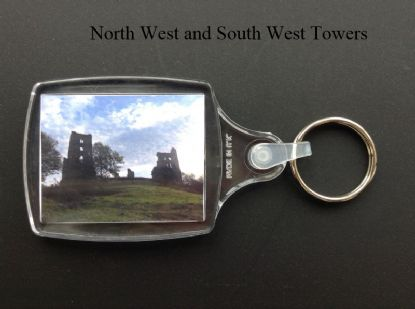 Medium size Keyring. Sheriff Hutton and Richard III's Boar.